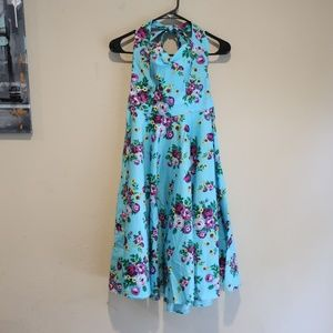 Hell Bunny Vixen Swing Dress sz XS